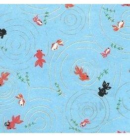 JP145 Papier japonais petites poissons