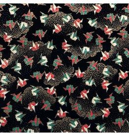 JP240 Papier japonais imprimee origami, 2 coul.