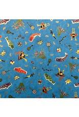 Japans papier oceaan print