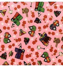 JP150 Japans papier gelukspoppetjes