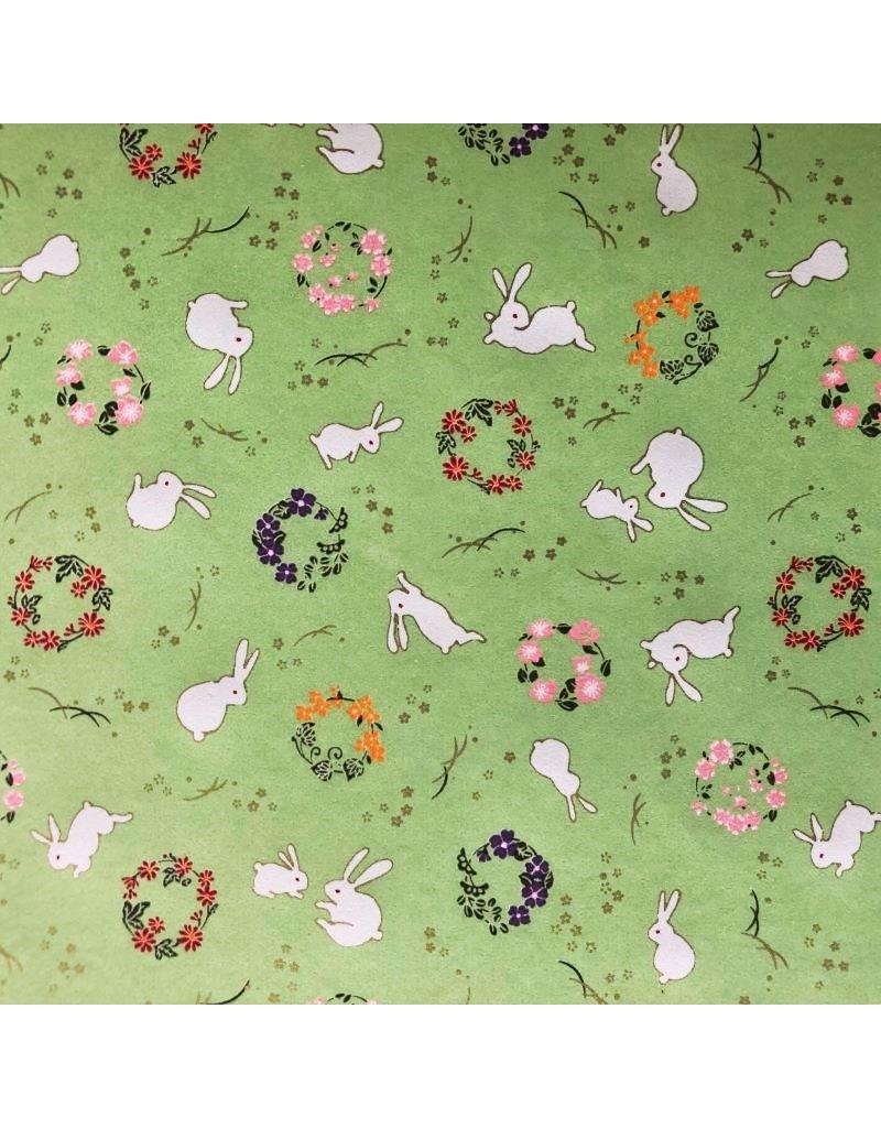 Papier japonais petites lapins