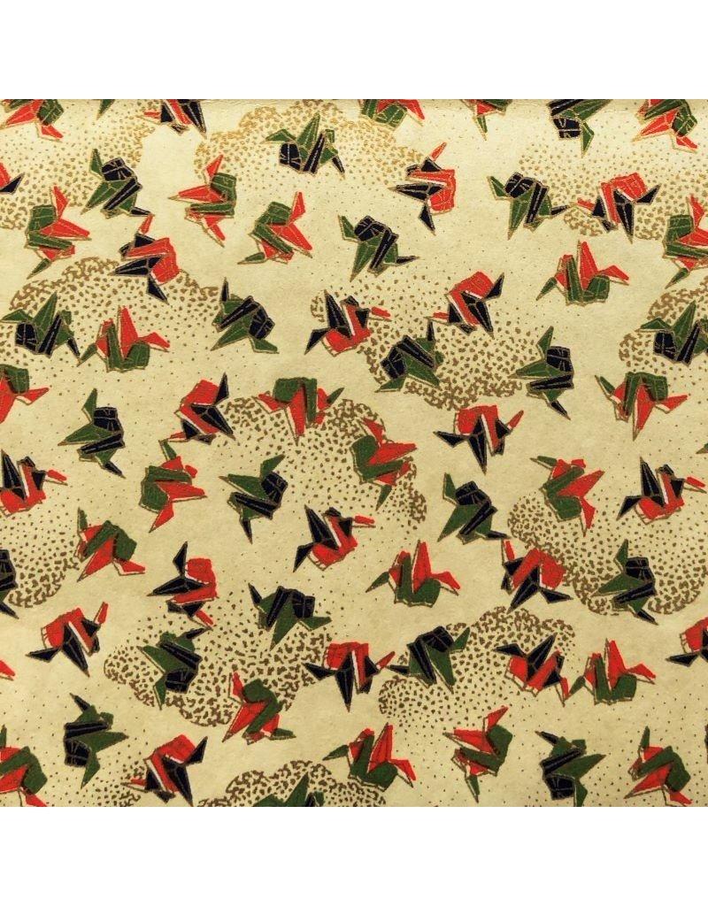 Japanees paper origami print