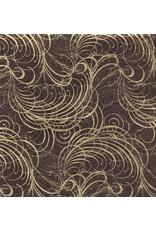 Loktapapier met goudslingerprint
