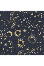 Lokta Paper Mond und Sterne drucken