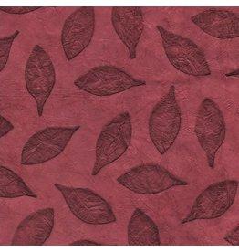 NE490 Loktapaper with embossed leaves