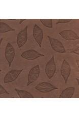 Loktapapier met blaadjes in reliëf