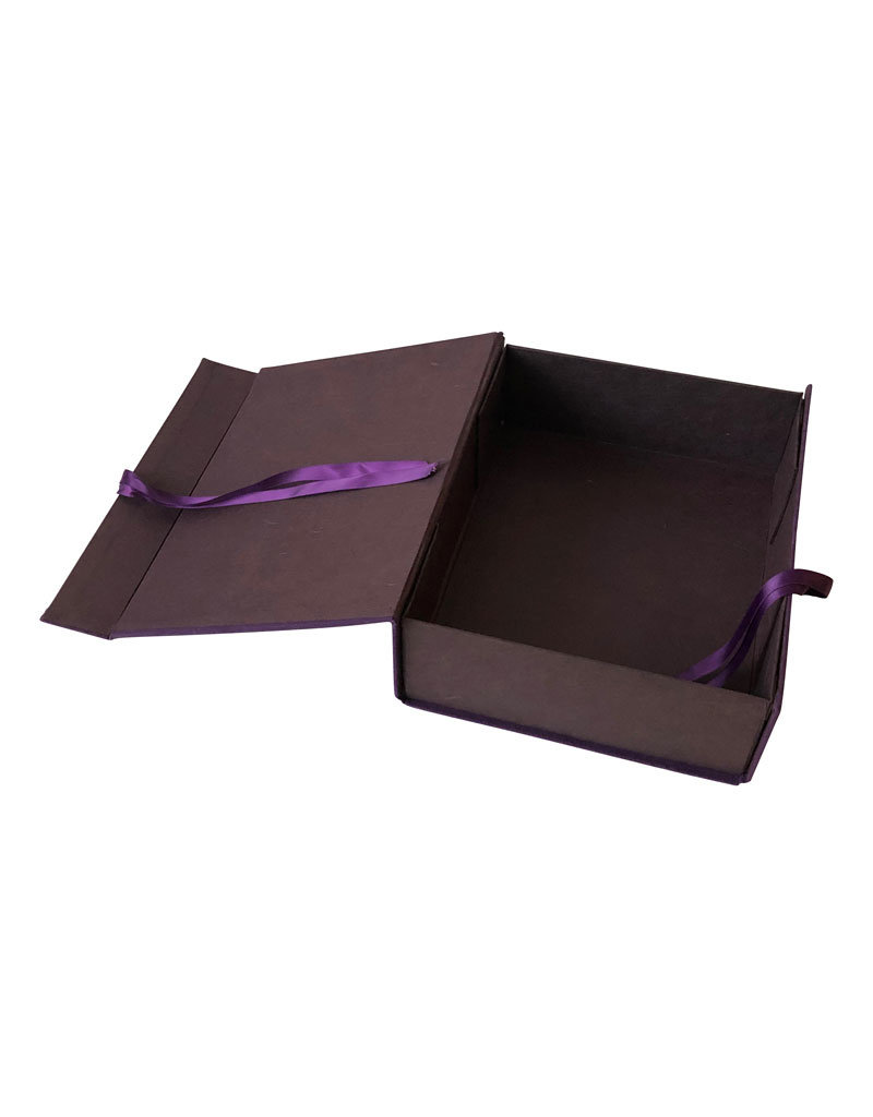 Memorybox met tekst, uni katoen