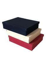 Erinnerungsbox Baumwolle/ Blattmotiv