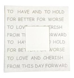 TH181 Livre d'or texte du promesse du marriage