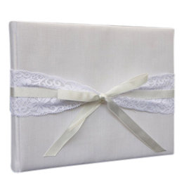 TH186 Album with lace ribbon and bow