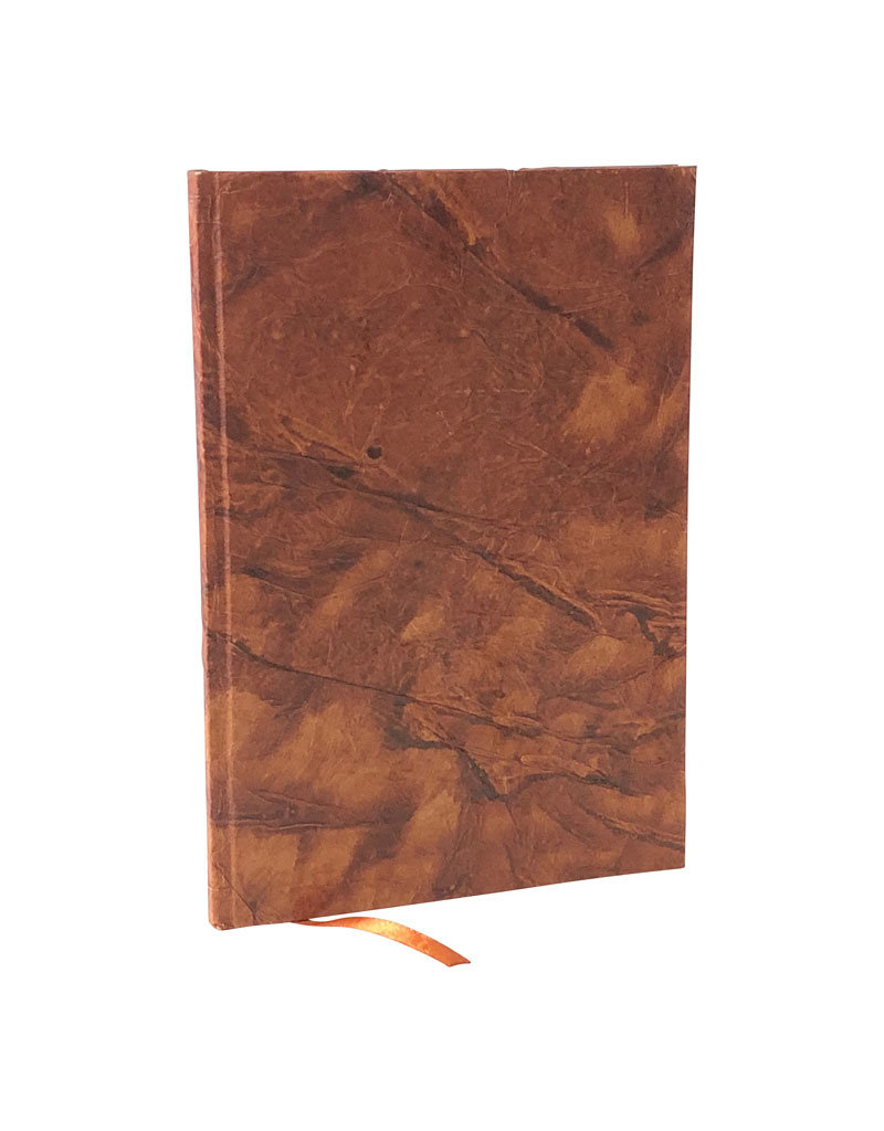 Notebook leather-paper