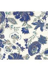 Papier de coton a motif floral