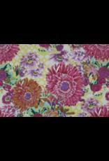 Katoenpapier bloemdessin