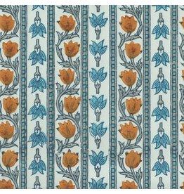 AE209 Papier de coton a motif floral