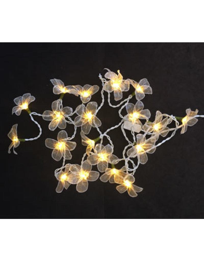 . String light skeletonleaves