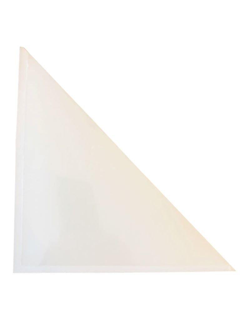 zelfklevende insteekhoes driehoek, 17x17cm