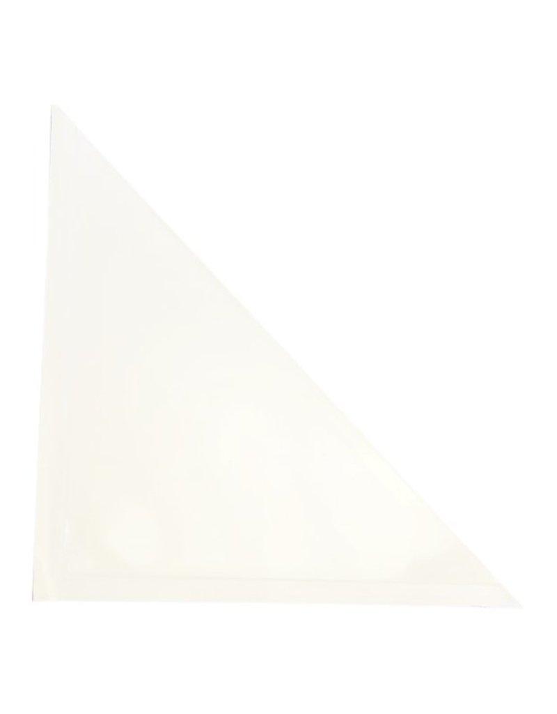 zelfklevende insteekhoes driehoek, 10x10cm