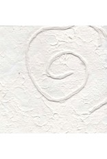 Mulberry paper with spiral design