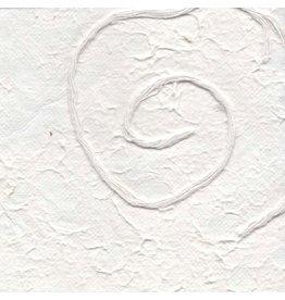 TH847 Mulberrypapier met spiraaldessin