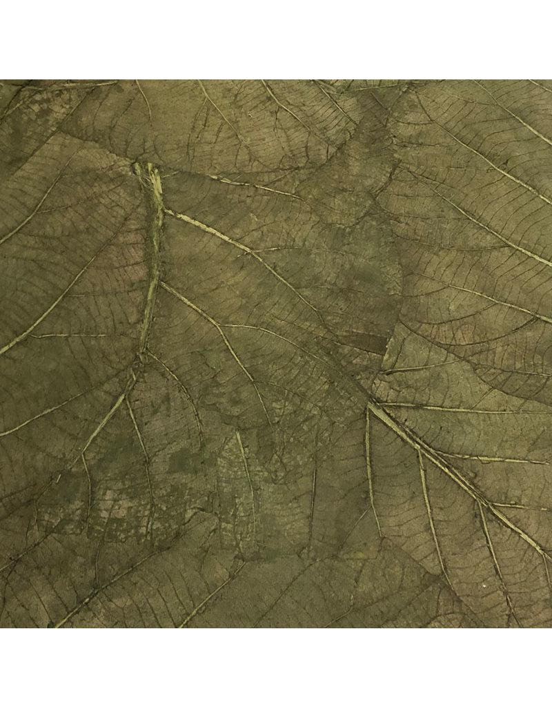 Mulberry Paper teak leaves