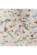 Mulberrypaper with flower mix