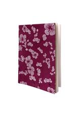 Cahier mit japanischem Blumendruck