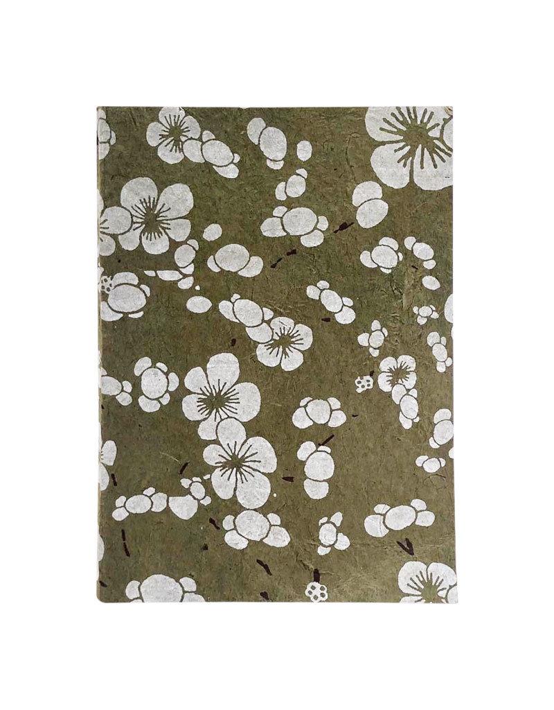 Notizbuch japanischem Blumendruck
