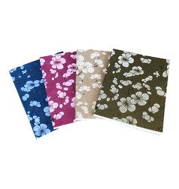 NE515 Cahier mit japanischem Blumendruck