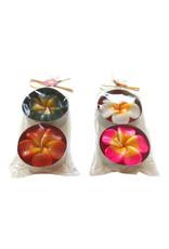 Kerzen Blumen-design XL