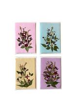 Set 8 kaarten /env. bloem