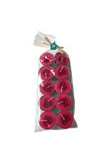 10 bougies pour chauffe-plats coeur