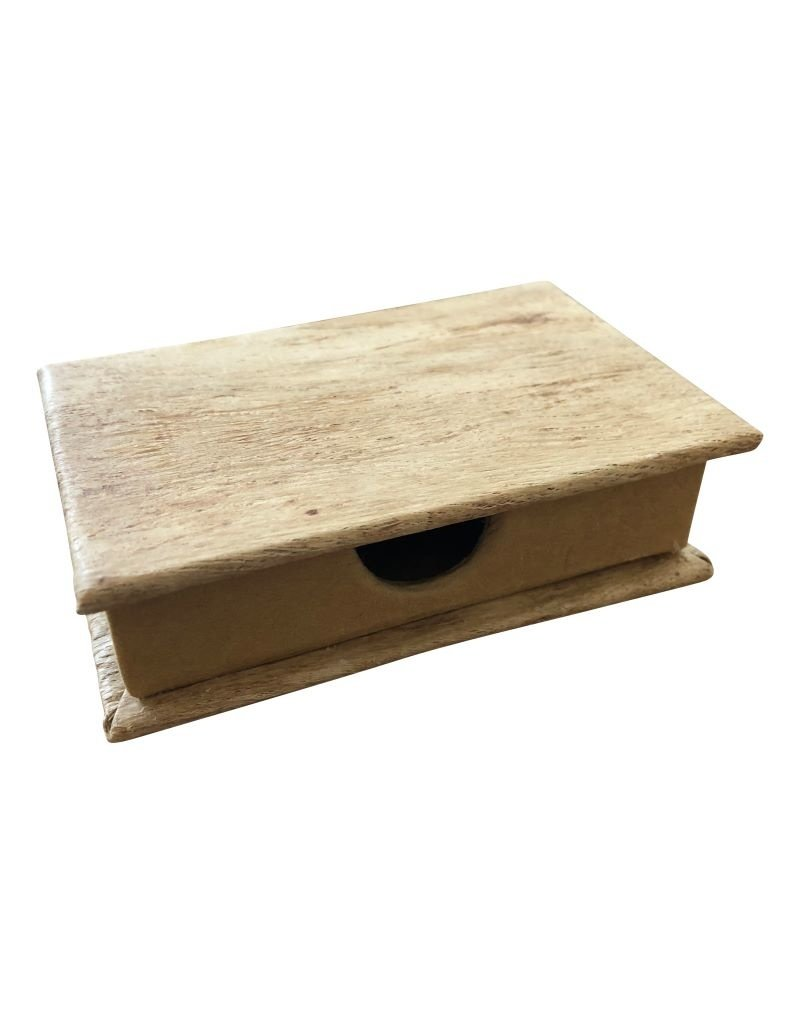 business card box, mulberry paper