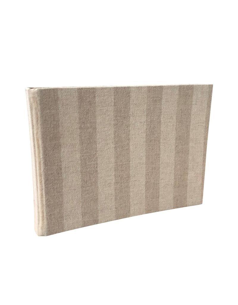 Gastenboek katoen-stof omslag