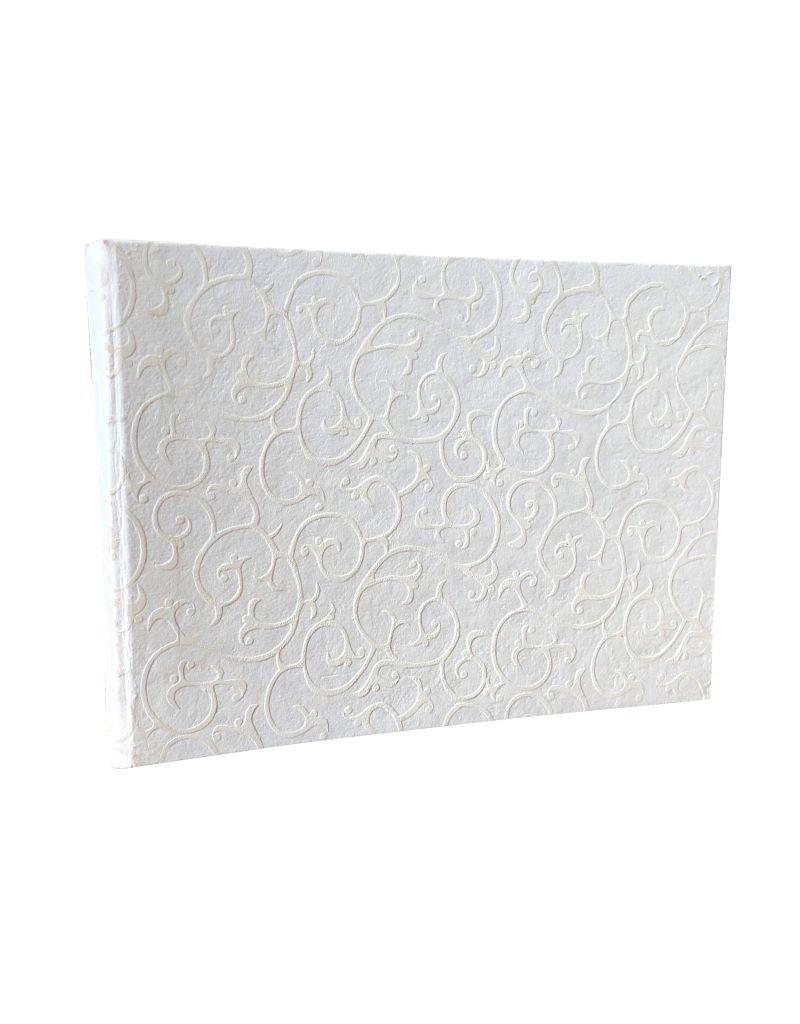 Gastenboek witte print