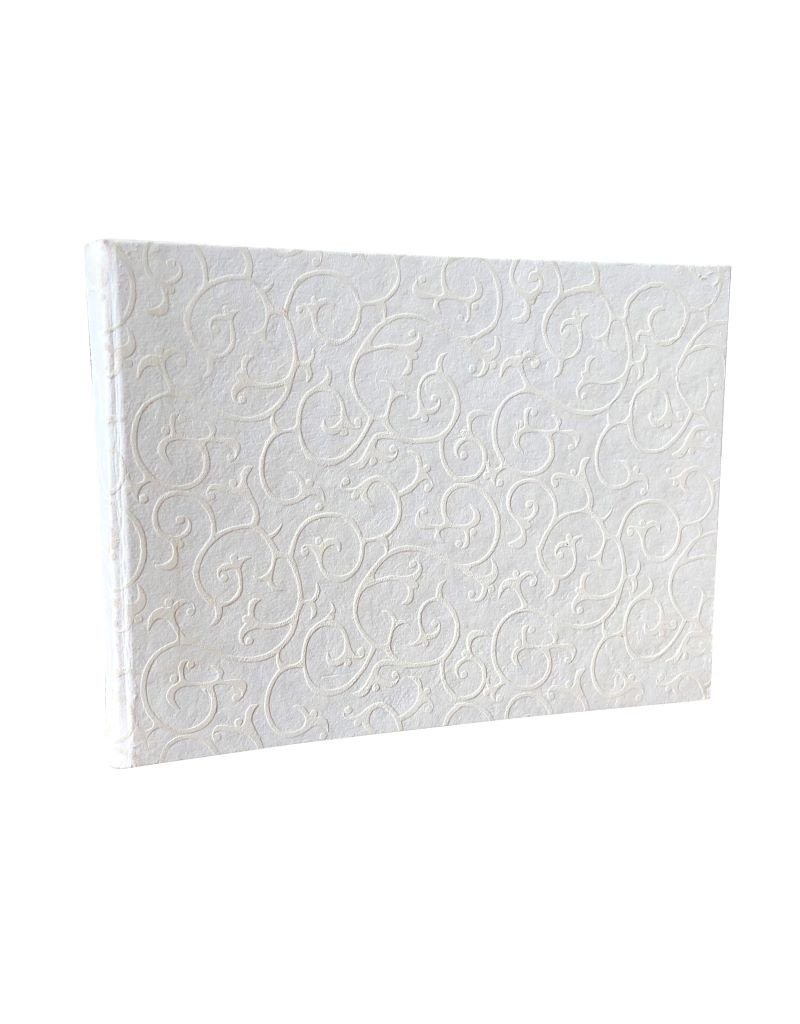 Guestbook white print.