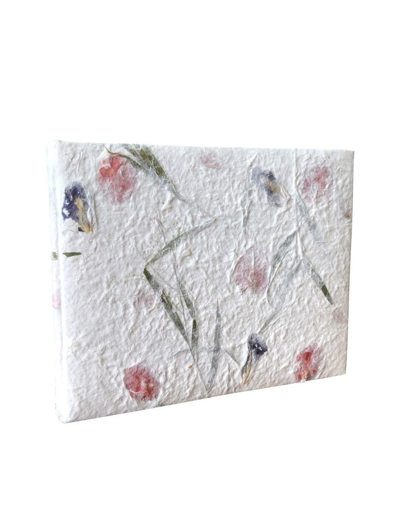 Gästebuch Maulbeer/Blumen