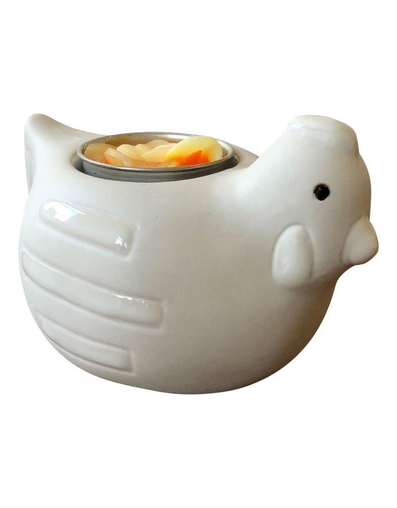 Porcelain animal/candle.