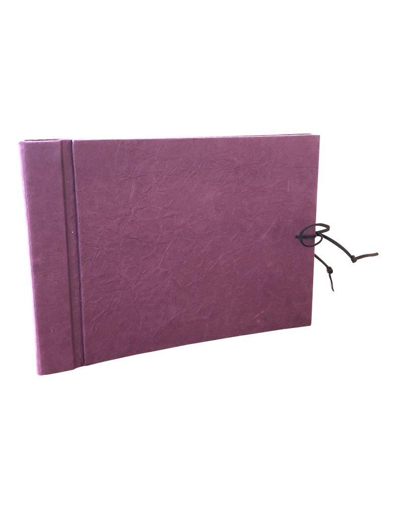 Album papier de cuir