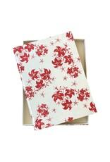 Gästebuch aus Maulbeerpapier mit Liliendruck