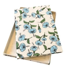 TH944 Gästebuch aus Maulbeerpapier mit Liliendruck