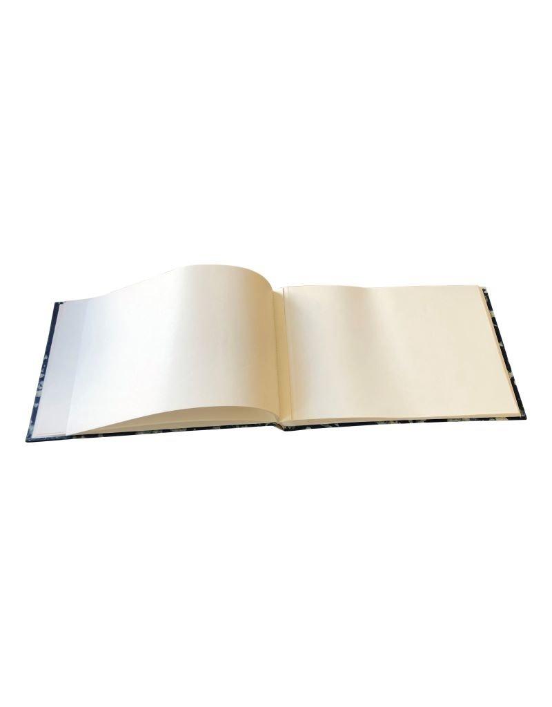 Album/gastenboek batikstof, 16x24cm