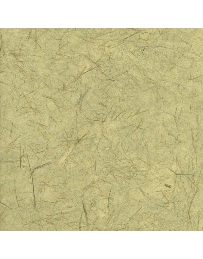 Gampi papier met cogon en vezels,