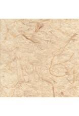 Maulbeerpapier mit Bananenfasern, transparent
