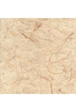 Mulberry paper with banana fibers, transparent