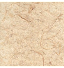 TH879 Mulberry paper with banana fibers, transparent