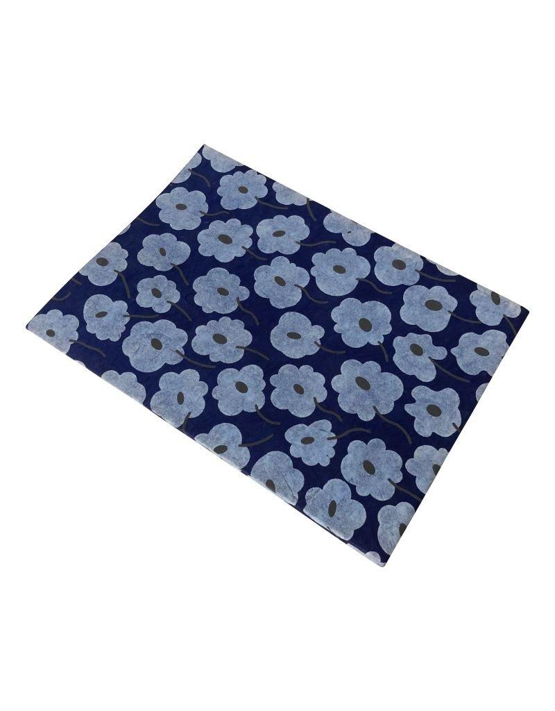 Notebook blossom print.