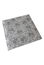 Gastenboek Silver Rose