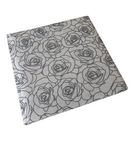 TH599 Guestbook Silver Rose