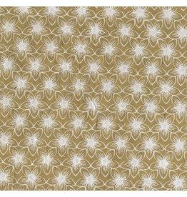 NE859 Lokta papier met bloemprint