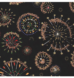 JP175 Japanese paper with fireworks